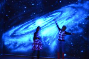 Our new exhibition is about the solar system