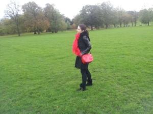 Greenwich Park in the rain