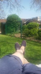 Sunny day in Paddington Park