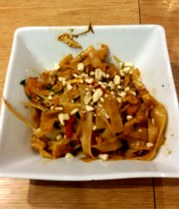 The result! Chicken Pad Thai made by me! Well...us...